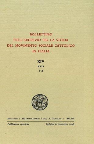 Attività di sciopero delle organizzazioni sindacali cattoliche dal 1904 al 1914