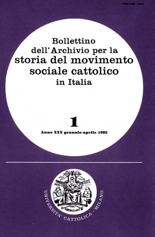 Elenco di pubblicazioni sul movimento sociale cattolico edite in Italia nel 1993