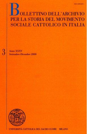 Il riconoscimento delle formazioni sociali: il contributo dei cattolici all'Assemblea costituente (1946-1948)