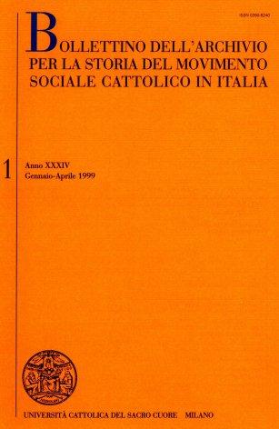 La storiografia sull'azione sociale e politica dei cattolici italiani tra Otto e Novecento. Elenco di pubblicazioni edite in Italia nel 1997