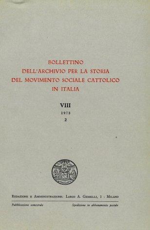 L'azione sociale dei giovani cattolici italiani durante il pontificato di Pio X