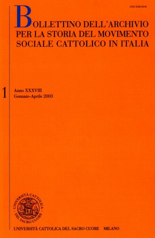 Le associazioni cattoliche della provincia di Torino nell'inchiesta Crispi del 1895-96