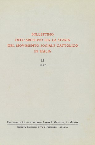 Le prime Casse operaie cattoliche in diocesi di Venezia (1898-1904)