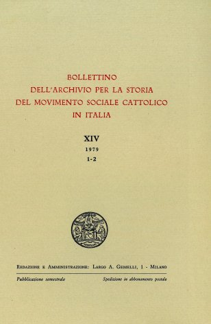 Le unioni cattoliche del lavoro nelle campagne bresciane nei primi anni del Novecento