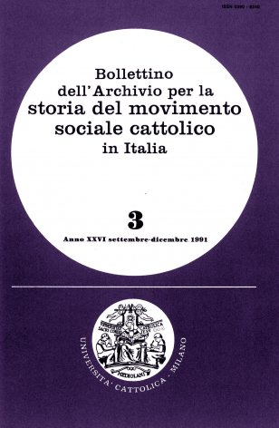 Origini e primi sviluppi della Democrazia cristiana a Milano (1941-1946)