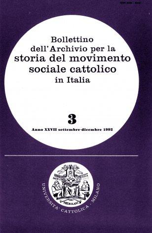 Sindacalismo cristiano a Milano nel