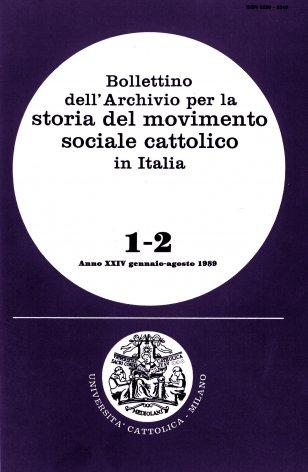Sindacalismo cristiano e istituzioni (1918-1925)