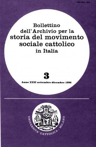 Sommario generale dell'annata 1996