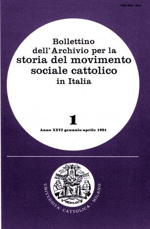 Una fonte per la storia della cooperazione cattolica nella provincia di Milano: il